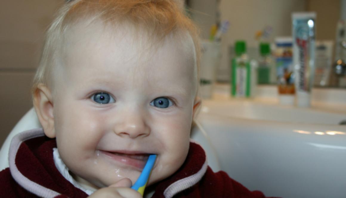 Bambini e igiene orale
