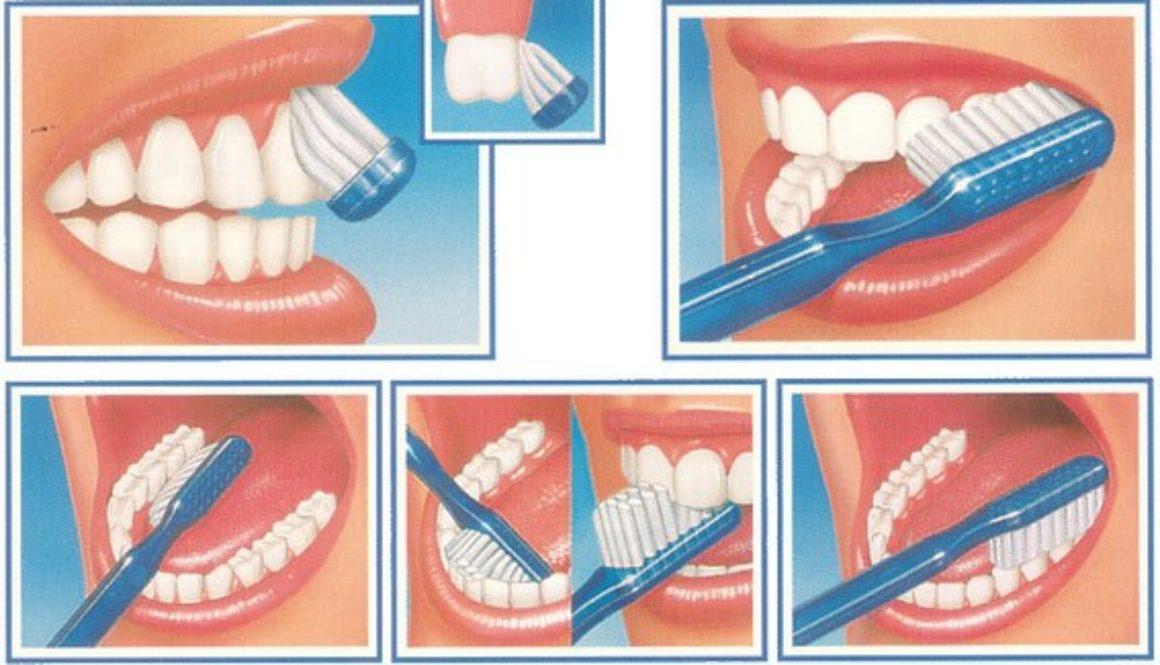 spazzolamento denti corretto
